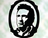 Johnny Cash Face
