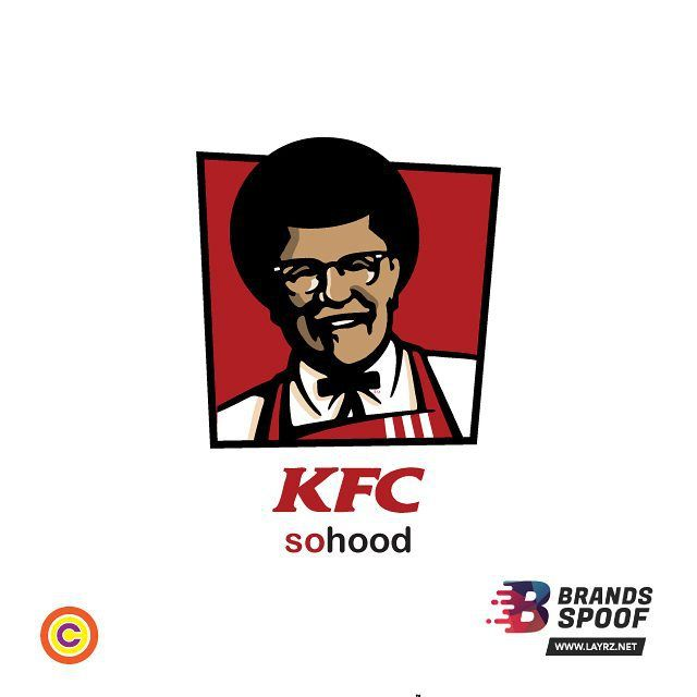 @layrz_ng challenged us to a #BrandSpoof and we took that challenge. You may have heard of Colonel Sanders but this here is Commander Kelechi; he commanders all the chicken to be served up in the nearest KFC in your hood. #Parody #Spoof #Fun #Work #Cokards #CreativeAgency by cokards