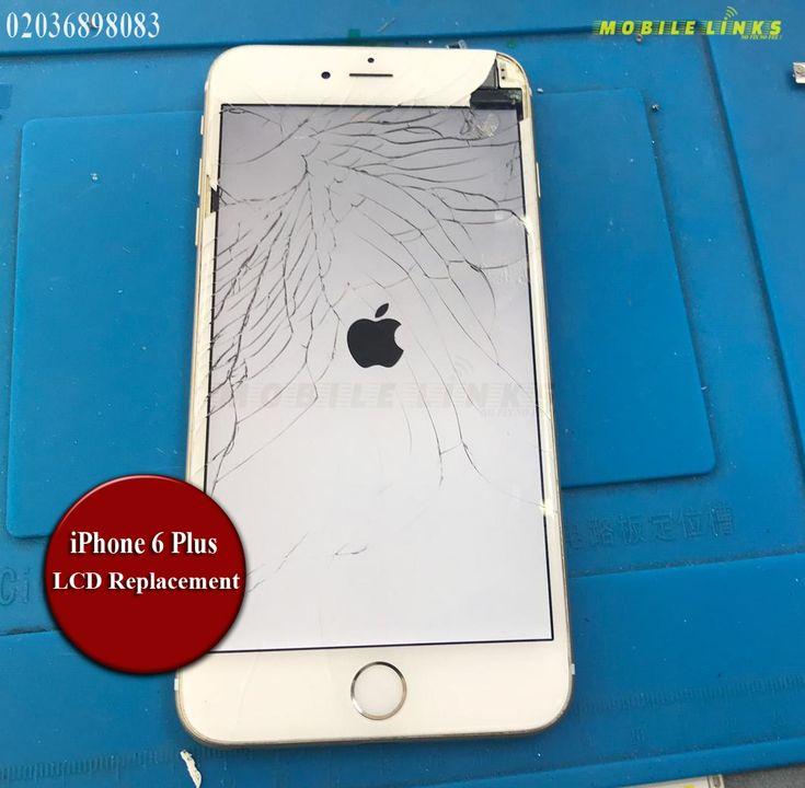 iPhone 6 Plus Broken LCD/Display Replacement Repair ...