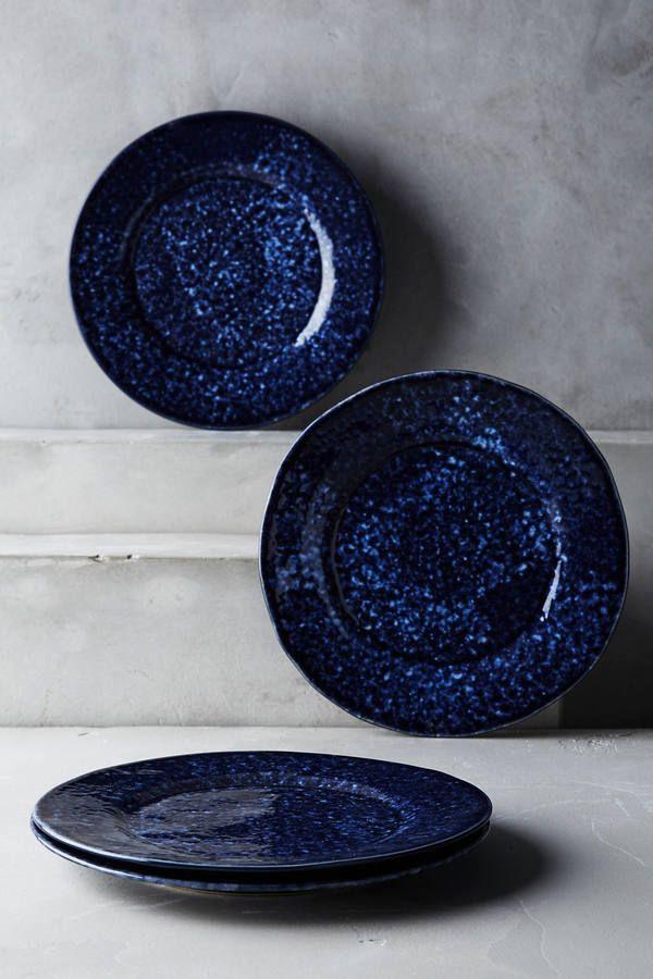 Blue Pheasant Isla Side Plate Set