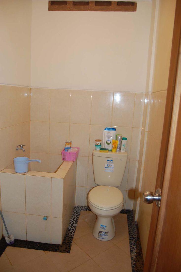 interior sederhana dengan bak  #kamar mandi #minimalis #desain