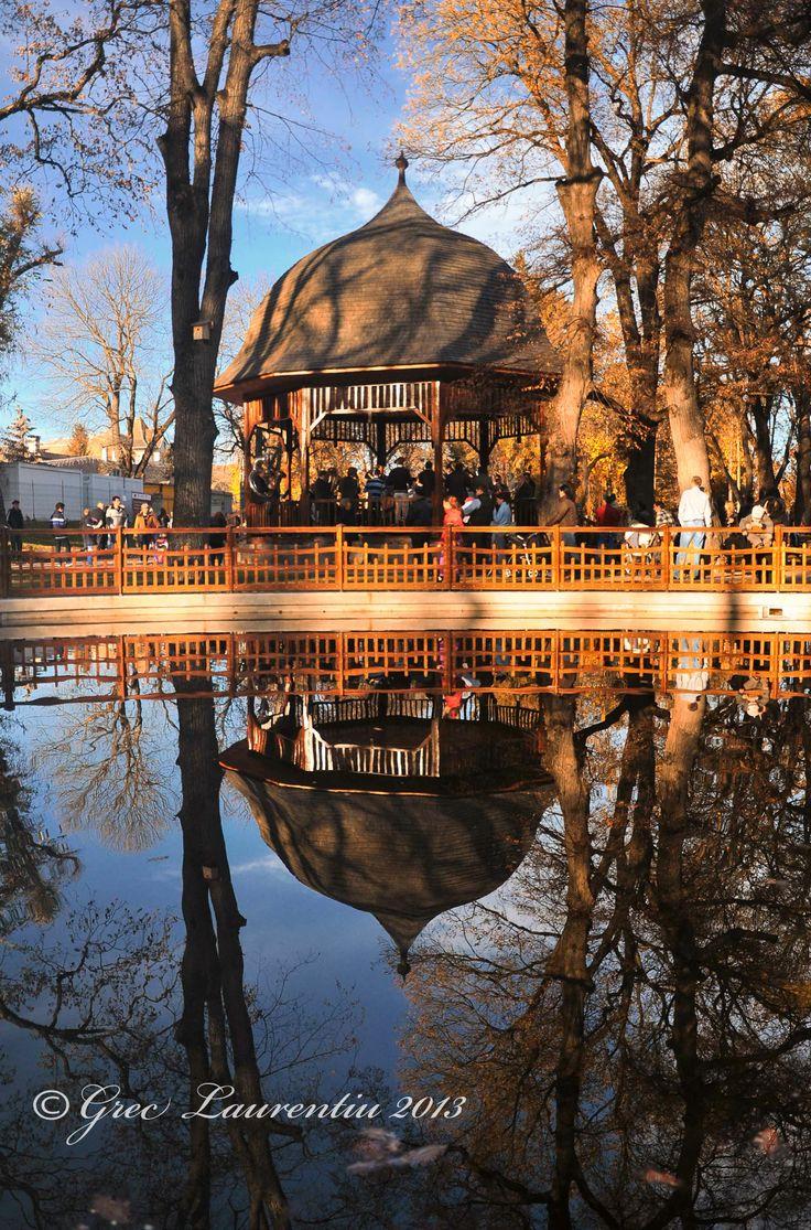 Parcul  din  Bistrita -  toamna  2013