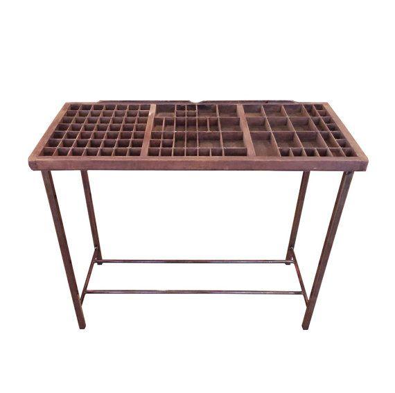 Letterpress Tray Coffee Table: 378 Best Letterpress Ideas Images On Pinterest