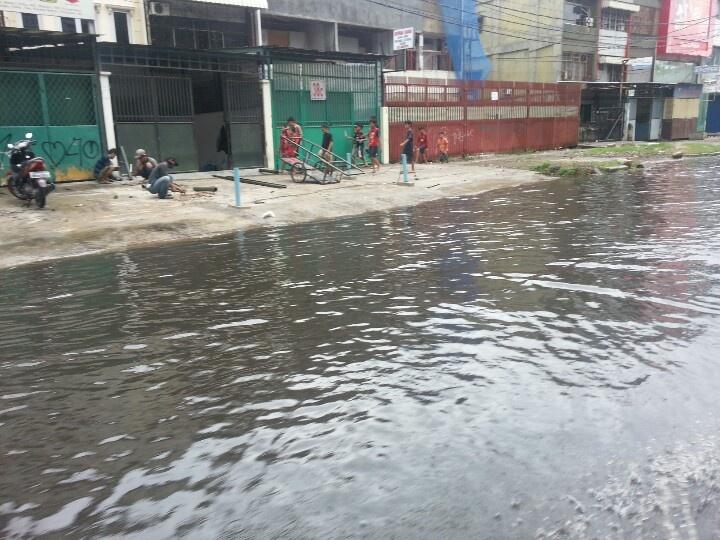 Flood in Jakarta Utara