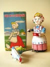 1950's girl with chicken wind up: 1950 S Girls, 1950S Girls
