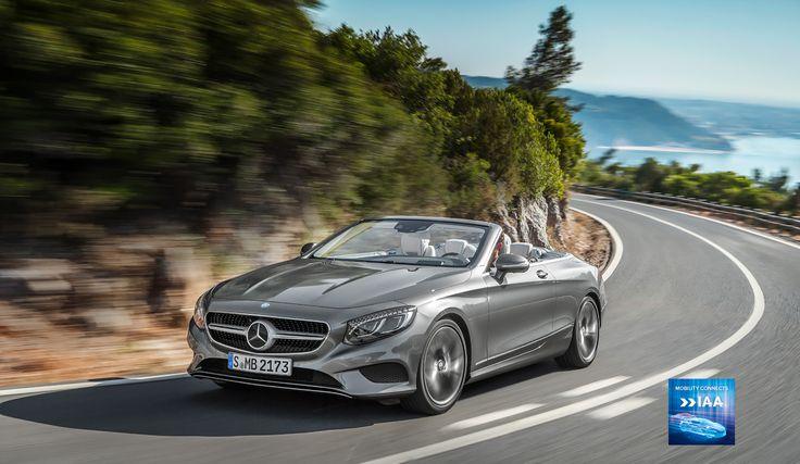 Das Mercedes-Benz S-Klasse Cabriolet.