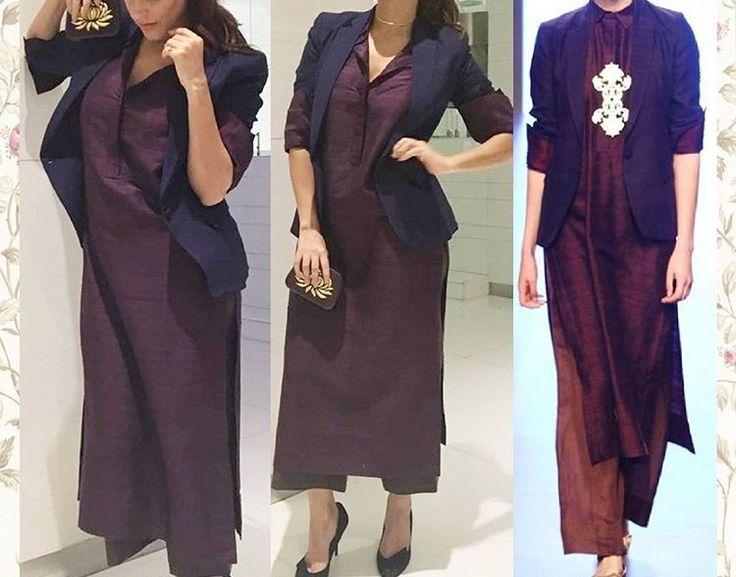 Neha Dhupia # Payal Khandwala # formal cum casual look #