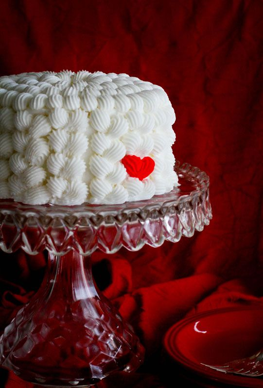 Mini Heart Cake