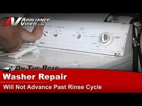 11 best washer images on pinterest washing machines washer and washer repair not advancing repair diagnostic kenmore whirlpool sears fandeluxe Gallery