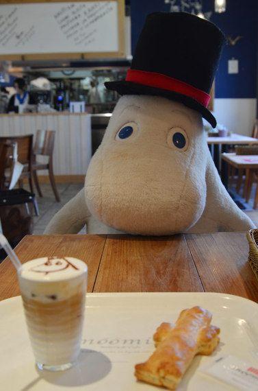 Moomin Cafe in Tokyo