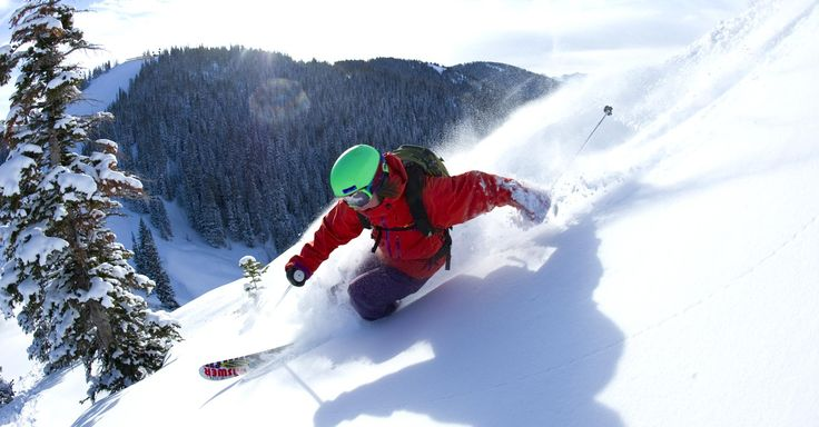 Aspen/Snowmass in Aspen, Colorado.  3132 acres of amazing skiing and snowboarding.  Base elevation of 8,104 feet and summit elevation of 12,510 feet! #Powder