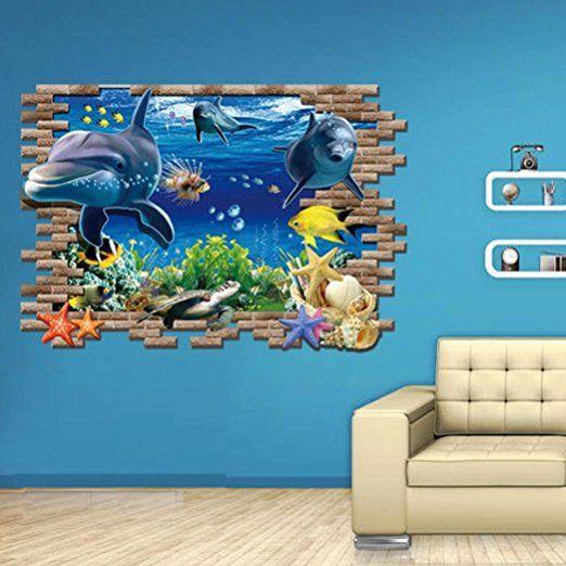 Oltre 25 fantastiche idee su carta da parati per camera for Stickers murali 3d
