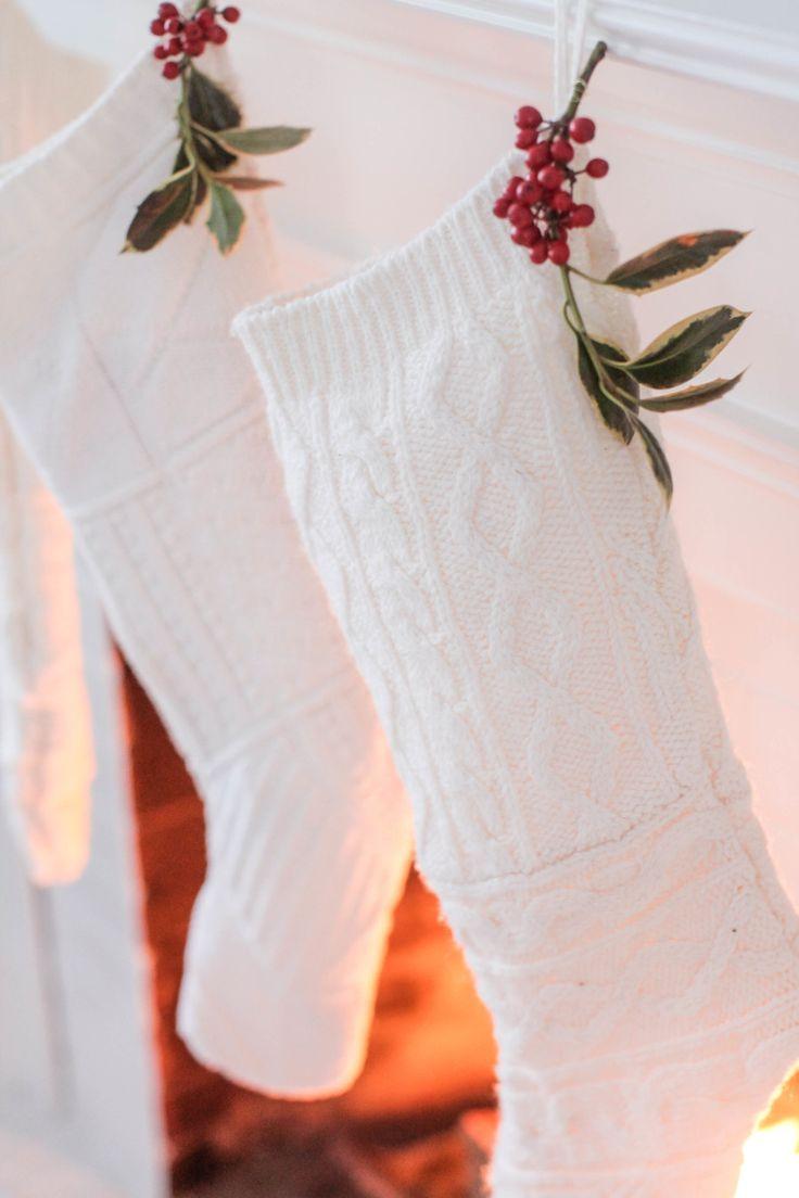#DIY Sweater Stockings