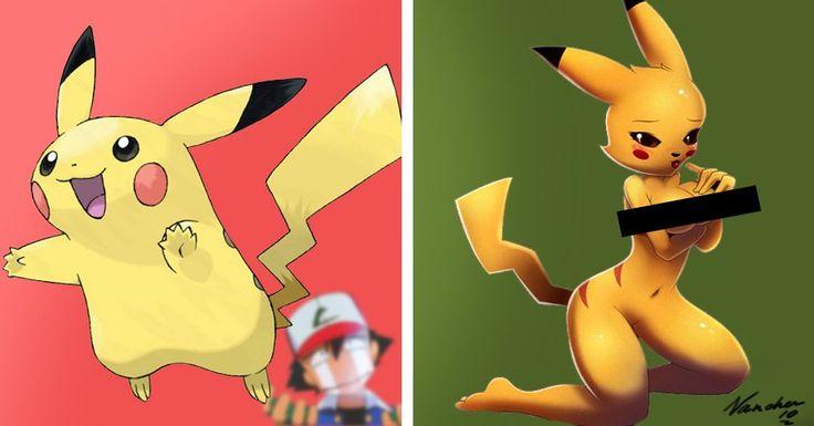 12 Weird Sexy Pokémon Drawings That Might Give You A Weird Boner