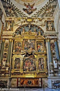 Capilla Natividad de Nuestra Señora, Catedral de Burgos Source: Charli52; gracias > 1.250.000 de visitas; thanks