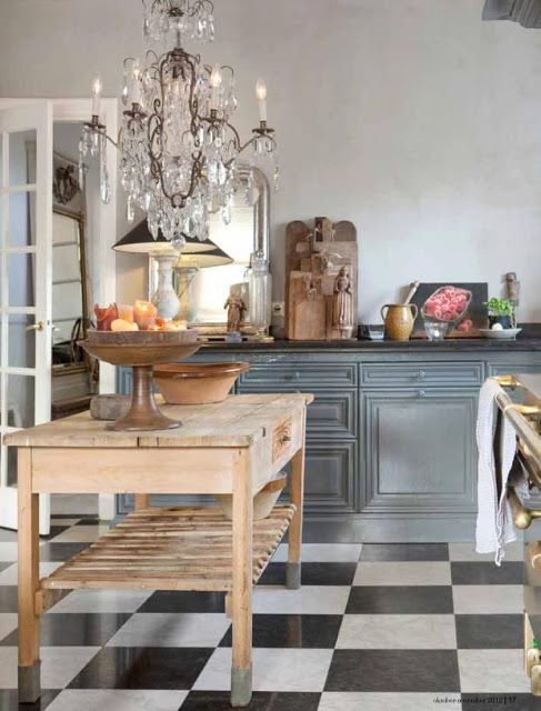 Kitchen French-Flemish in the Netherlands