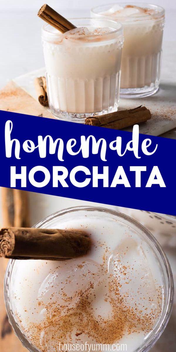 Horchata Recipe Homemade Horchata Horchata Horchata Recipe
