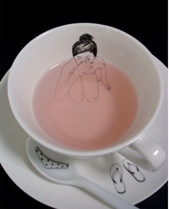 """Bathing Girl"" tea set by Esther Horchner, £39.95"
