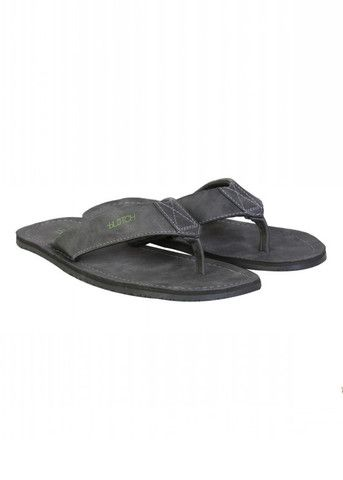 Grey Leather - Flip Flops  Shop now: www.blotchwear.com  #Footwear #Men