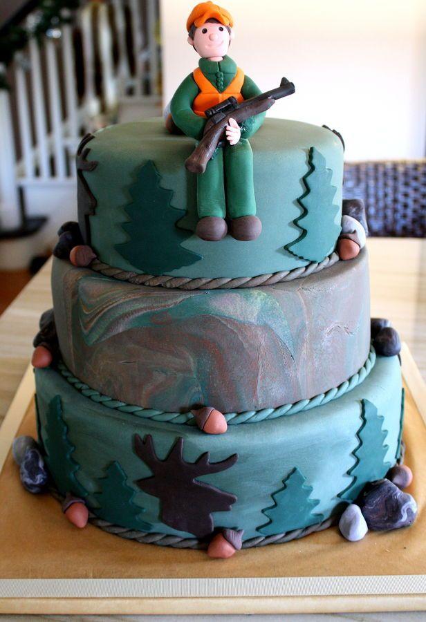 Hunting Groom's cake — Groom's Cakes