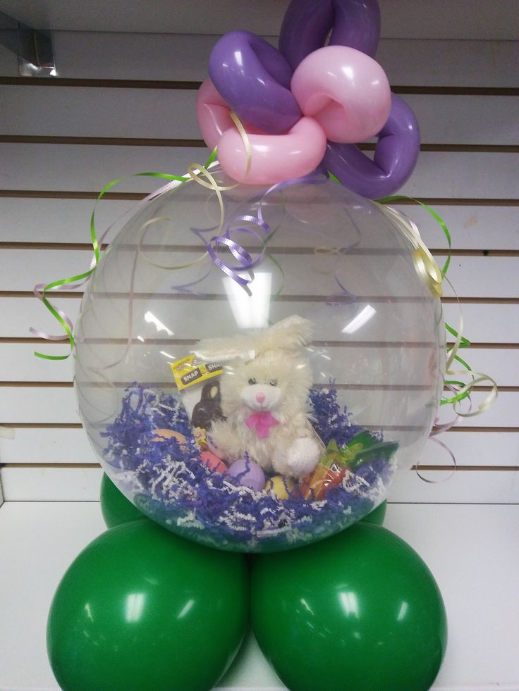 35 best easter ideas images on pinterest balloon decorations bring us your easter gifts and we will put it inside of a balloon negle Images