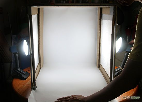 Complete directions for making a light box for taking photos.  If I actually ever start a blog I will need to make one of these.
