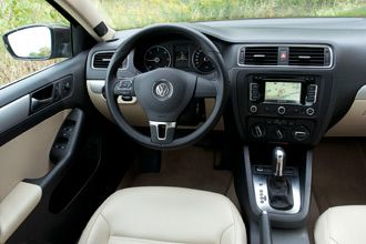 2012 Volkswagen Jetta interior. Review, photos.