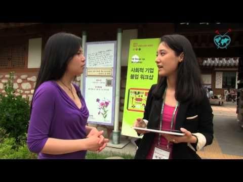 BonVoyage E. 34: ASES, Social enterprise Weenu empowers artists, South Korea #socent #MakeChangeTV