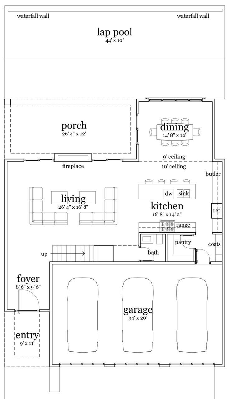 141 best floor plans images on pinterest floor plans car garage