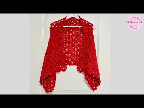 Chaleco a crochet paso a paso Nº 2 - YouTube