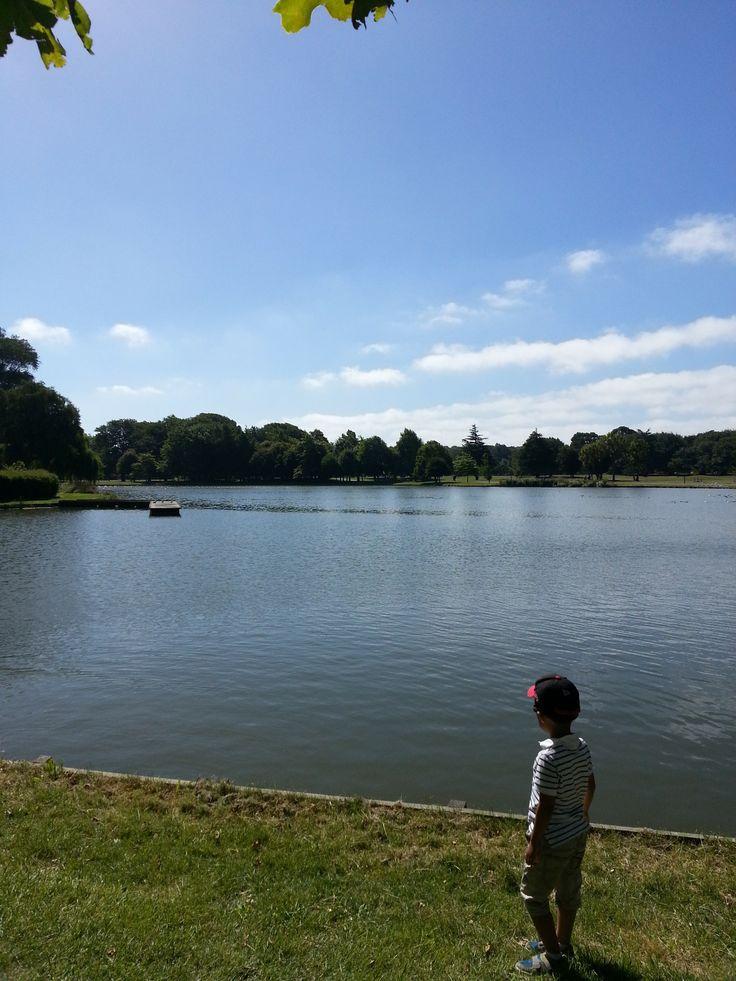 Children and Hagley park...  #christchurch #pictureourcity