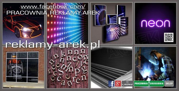 drukarnia reklamy mińsk mazowiecki, ulotki wizytówki banery plakaty naklejki led wyświetlacze http://reklamy-arek.pl
