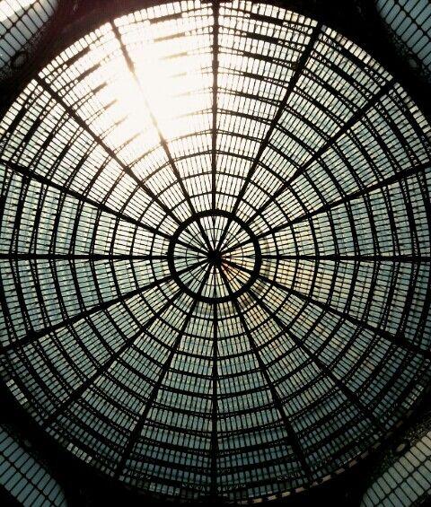 Looking up- detail Galleria Umberto I