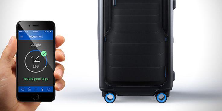 La Bluesmart est une valise connectée aux nombreuses fonctionnalités, lancée par une kickstarter de New York. Aperçu.
