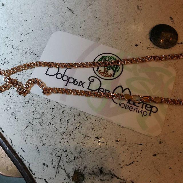 #бисмарк #цепь #золотаяцепь #украшения #ювелирныеукрашения #ddm #ddmjewelry #ddmkievua #ювелиркиев #jewelry