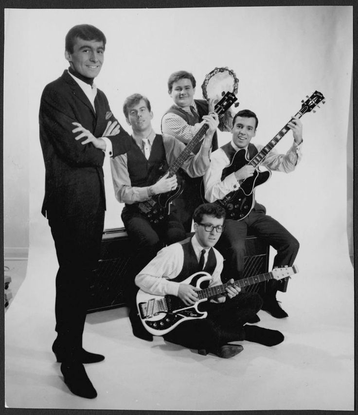 Ottawa band the Esquires, active between 1962-1967. Formed by Clint Hierlihy and Gary Comeau while still in high school, they were one of Canada's first pop groups, and also the first recipient's of the first-ever Juno award.