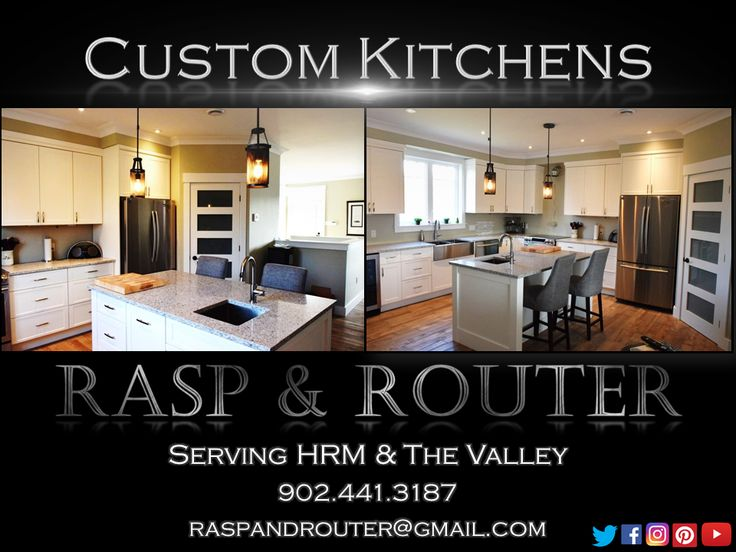 """Rasp and Router is pleased to announce our first featured video of 2017!!!    Rasp and Router """"Custom Kitchens"""""""