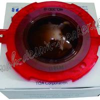 Diaphragm/Spul TOA 50 Watt  Untuk horn speaker: 1. ZH-5025B/BM 2. ZH-651D/MD 3. ZH-632D/MD 4. ZH-652D/MD Asli Produk TOA untuk suara yg lebih kencang dan kuat.  Cek produk lainnya di www.rumah-desain-speaker.com  #TOA #TOASpeaker #SpulTOA