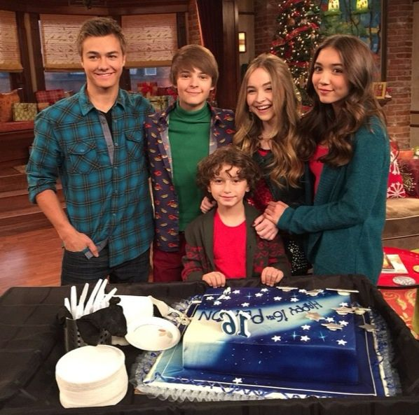 "Photos: Peyton Meyer Celebrating His Birthday With His ""Girl Meets World"" Cast November 24, 2014"