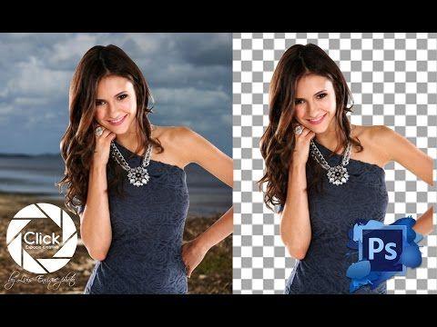 Photoshop Tutorial: Como quitar el fondo a una imagen con Photoshop CS6 - YouTube
