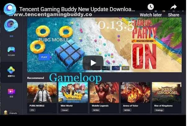 TENCENT GAMING BUDDY GAMELOOP DOWNLOAD | Battle royale game, Games, Buddy