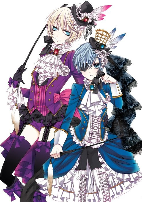 Holy crap alois! Your shorts keep getting smaller and smaller! XD