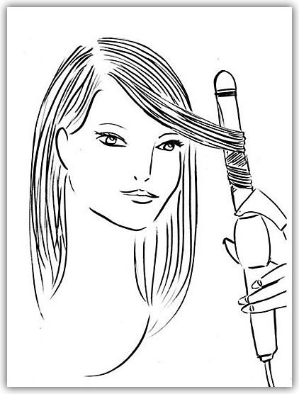 How to Properly Curl Hair with a Curling Iron