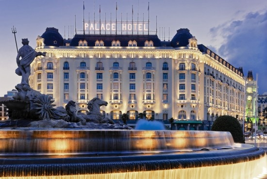 Our hotel in Madrid......