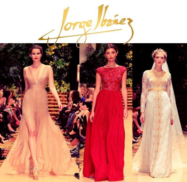 Vestidos de fiesta largos 2013 Jorge Ibañez