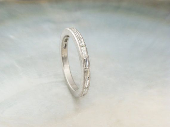 Hey, I found this really awesome Etsy listing at https://www.etsy.com/listing/178756184/channel-set-baguette-diamond-band