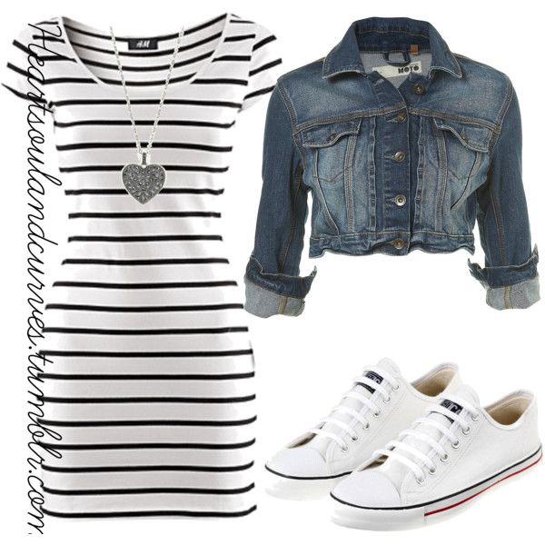 A fashion look from February 2011 featuring H&M dresses, Ethletic sneakers and Judith Jack necklaces. Browse and shop related looks.