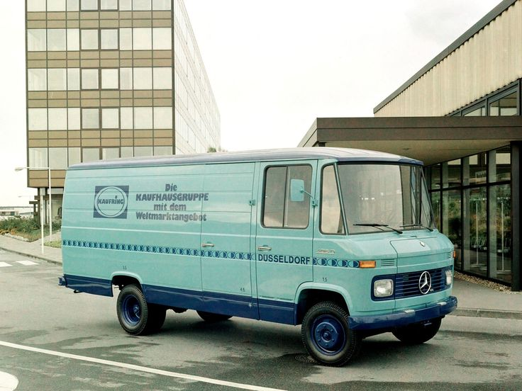 Mercedes-Benz L 406 D фургон (Br.309) '01.1968–12.1974