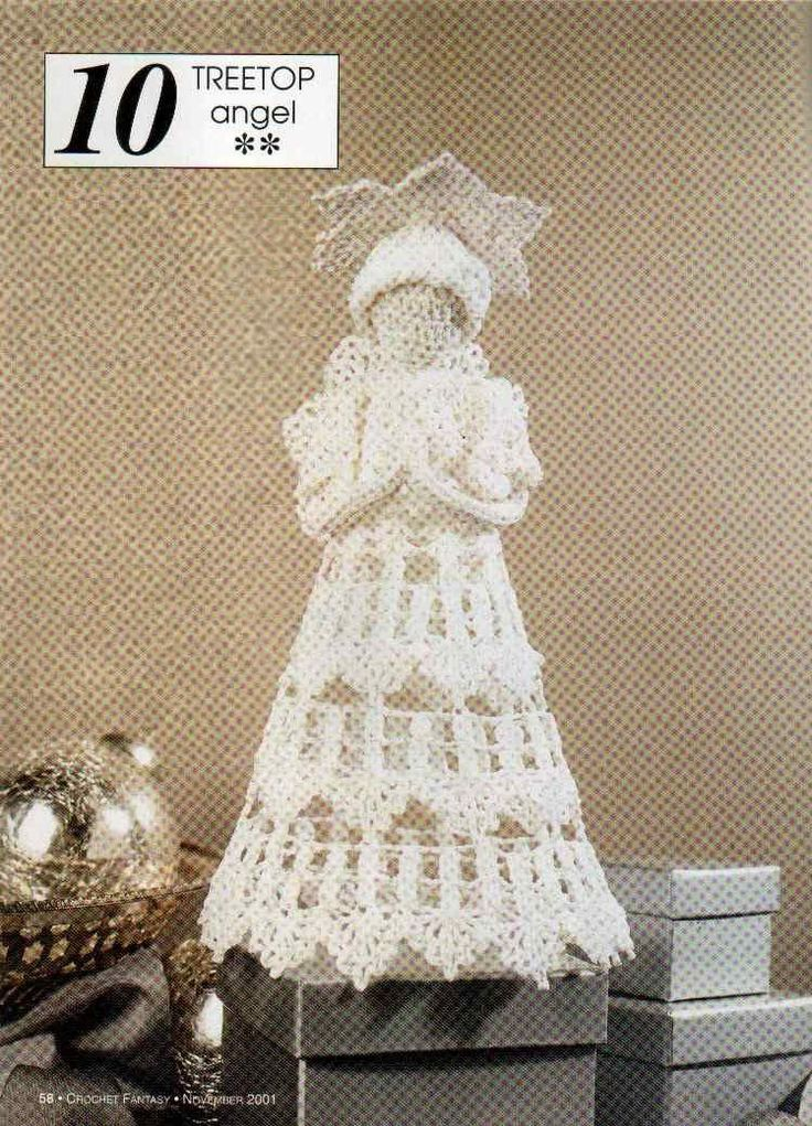 download the Crochet Treetop Angel pattern as a zip file here.