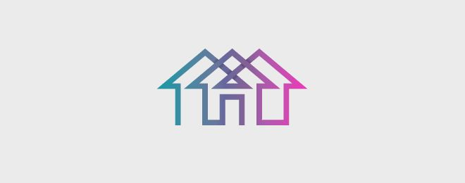 40 Creative House Logo design examples for your ...